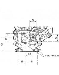 Moteur 6.5 CV Thermique 1/2 réducté