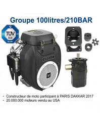 Groupe hydraulique 20CV V2 POMPE 15.3/7.6