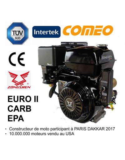 Moteur thermique 13 CV ZH + Electrique