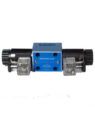 Distributeur Electro magnétique CETOP 3 12 Volts 30L/Mn