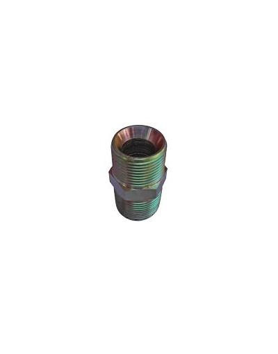 Raccord hydraulique 1/2 BSP 1/2 BSPT