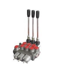 Distributeur Hydraulique 45L/min 3 voies double effet