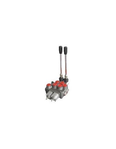 Distributeur Hydraulique 70L/min 2 voies double effet