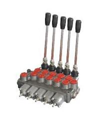 Distributeur hydraulique 70L/min 5 voies double effet