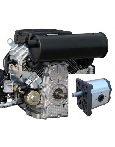 Groupe hydraulique 20CV V2 POMPE SAE 14CM3
