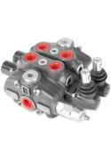 Distributeur Hydraulique 80L/min EMPILABLE 4 voies double effet
