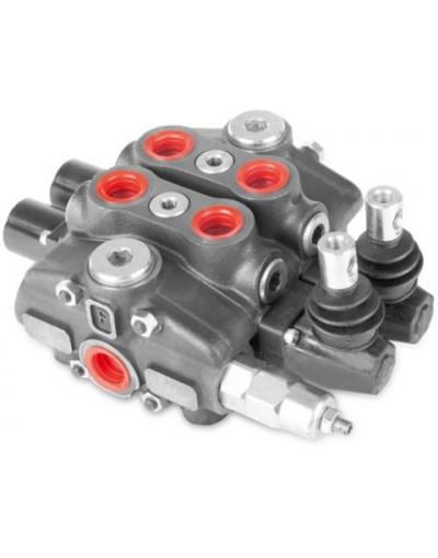 Distributeur Hydraulique 80L/min EMPILABLE 10 voies double effet