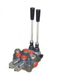 Distributeur Hydraulique 45L/min 2 voies double effet