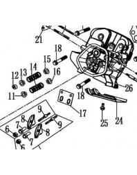 Piece N17 pour 8CV 9CV 13CV 16CV