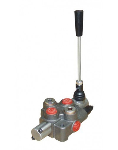 Distributeur Hydraulique 45L/min 1 voie Simple Effet