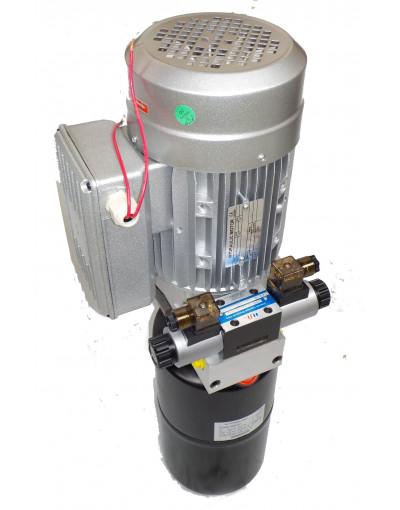 Mini centrale hydraulique 220 - 240 Volts Double effet