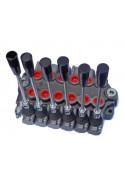 Distributeur Hydraulique 45L/min 6 voies double effet