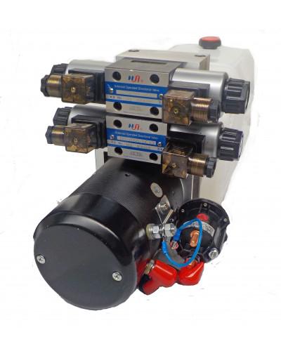 Mini centrale hydraulique 240Volts 2X Double effet