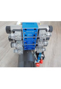 Mini centrale hydraulique 12Volts 3X Double effet