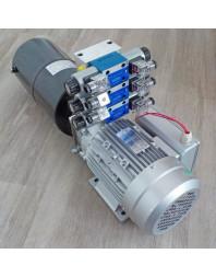 Mini centrale hydraulique 240Volts 3X Double effet
