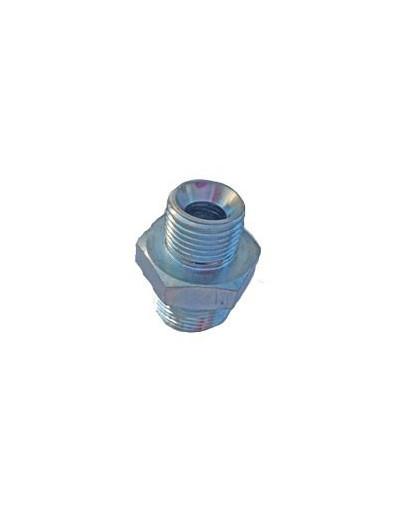 Raccord hydraulique BSP- BSP 3/4 3/8