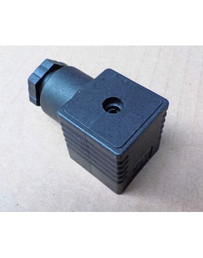 Prise electro vanne courant